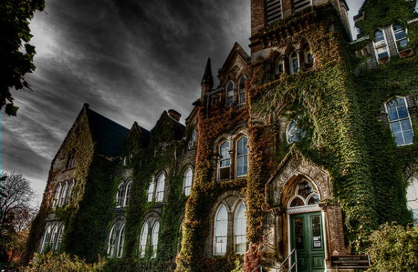 The University of Toronto in moody HDR. Photo: Francis B http://www.flickr.com/photos/szasukephotography/2942329761/